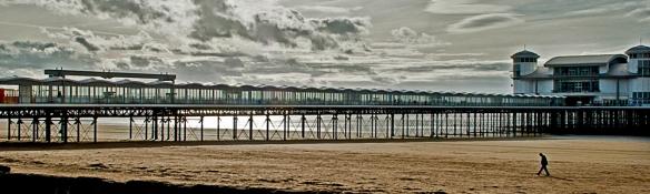 Weston Pier by Geoff Vaughan